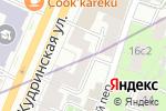 Схема проезда до компании Каприз невесты в Москве
