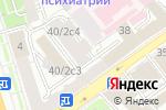 Схема проезда до компании Союз МЖК России в Москве