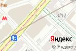 Схема проезда до компании Блиц-Рег в Москве
