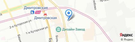 742 на карте Москвы
