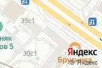 Схема проезда до компании Dessange в Москве