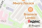 Схема проезда до компании Красин в Москве