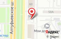 Схема проезда до компании Нск в Москве