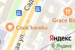 Схема проезда до компании На Кудринской в Москве