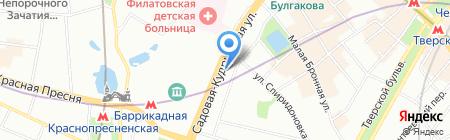 Российская промышленная коллегия на карте Москвы