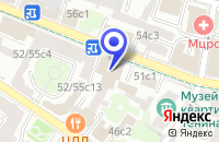 Схема проезда до компании ЦЕНТРАЛЬНЫЙ ДОМ ЛИТЕРАТОРОВ в Москве