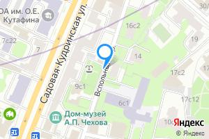 Сдается однокомнатная квартира в Москве м. Баррикадная, Вспольный переулок
