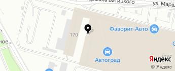 Мегалайт-Авто+ на карте Москвы