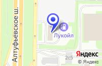 Схема проезда до компании АВТОСЕРВИСНОЕ ПРЕДПРИЯТИЕ ФОРПОСТ-СЕРВИС в Москве