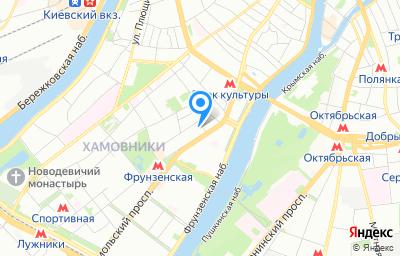Местоположение на карте пункта техосмотра по адресу г Москва, пр-кт Комсомольский, д 16/2 стр 14