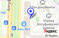 Схема проезда до компании МЕБЕЛЬНЫЙ САЛОН РУССИНИ в Москве