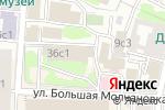 Схема проезда до компании Международная финансовая корпорация в Москве