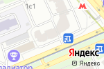 Схема проезда до компании PL Studio в Москве