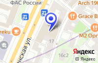 Схема проезда до компании ПРЕДСТАВИТЕЛЬСТВО В МОСКВЕ АВИАКОМПАНИЯ EL AL (ISRAIL AIRLINES) в Москве