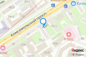 Комната в Москве м. Фрунзенская, Комсомольский проспект, 15с2