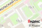 Схема проезда до компании Корпоратив. ORG в Москве