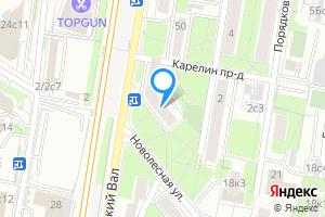 Двухкомнатная квартира в Москве ул. Бутырский Вал, 48