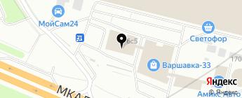 AJS на карте Москвы