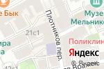 Схема проезда до компании Культурный центр Окуджавы на Арбате в Москве