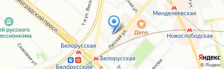 Beverly Hills Diner на карте Москвы