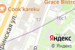 Схема проезда до компании Гликон в Москве