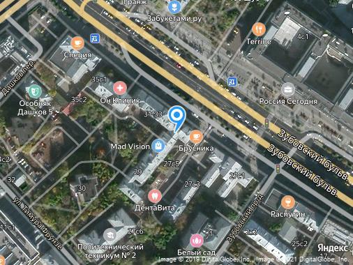 Продается 2-комнатная квартира, 75 м², Москва, Зубовский бульвар, 29