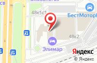 Схема проезда до компании Сеттка в Москве