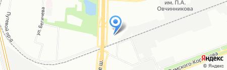 Бутик Впечатлений на карте Москвы