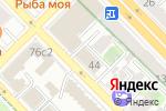 Схема проезда до компании Seven Hills в Москве