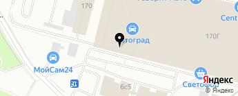 ShopInfiniti.ru на карте Москвы