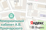 Схема проезда до компании Восточный грот в Москве
