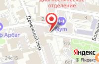 Схема проезда до компании Топмедиум в Москве