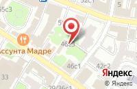 Схема проезда до компании Торгтрейд в Москве
