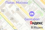 Схема проезда до компании Flavourart Art в Москве