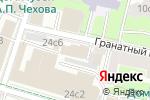 Схема проезда до компании Посольство Республики Таджикистан в РФ в Москве