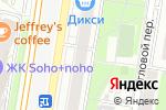 Схема проезда до компании Бадэн Офис в Москве