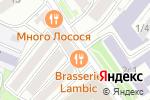 Схема проезда до компании У Тишинки в Москве