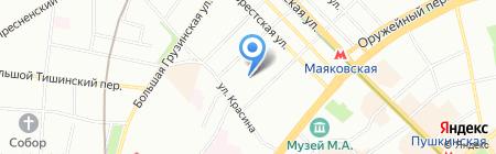 Эриссон на карте Москвы