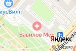 Схема проезда до компании Медсанчасть №32 в Москве