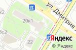 Схема проезда до компании Акватория 21 век в Москве