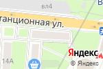 Схема проезда до компании Жалюзи в Москве