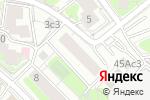 Схема проезда до компании Гносис в Москве
