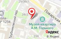 Схема проезда до компании См-Транзит в Москве
