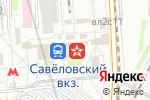 Схема проезда до компании Хорошие Новости в Москве