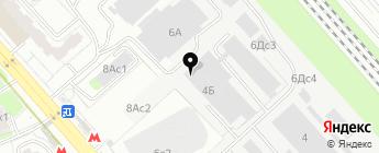 Svc-car на карте Москвы