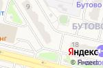 Схема проезда до компании Мини-пиццерия в Бутово