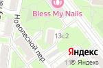 Схема проезда до компании Посад-Монтаж в Москве