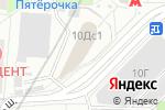 Схема проезда до компании Адвокаты Москвы в Москве
