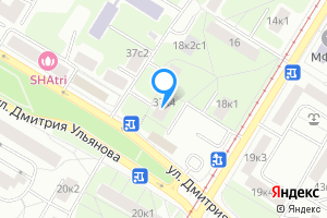 Комната в двухкомнатной квартире в Москве ул. Дмитрия Ульянова, 37к4
