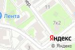 Схема проезда до компании Кино-5 в Москве